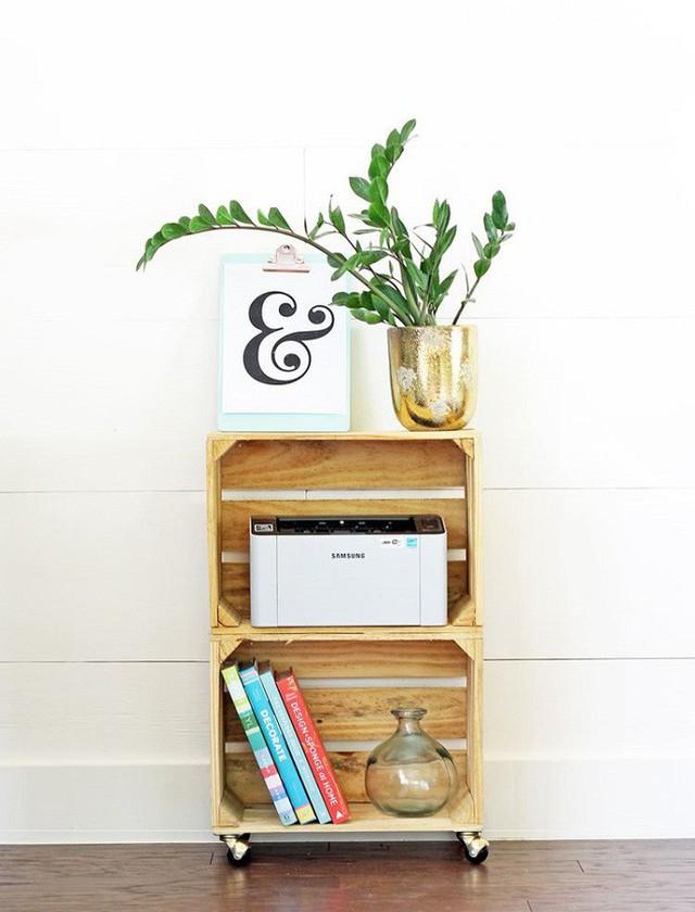 9 thiết kế kệ lưu trữ đơn giản giúp bạn giảm stress vì đống đồ lúc nào cũng bừa bộn  - Ảnh 8.