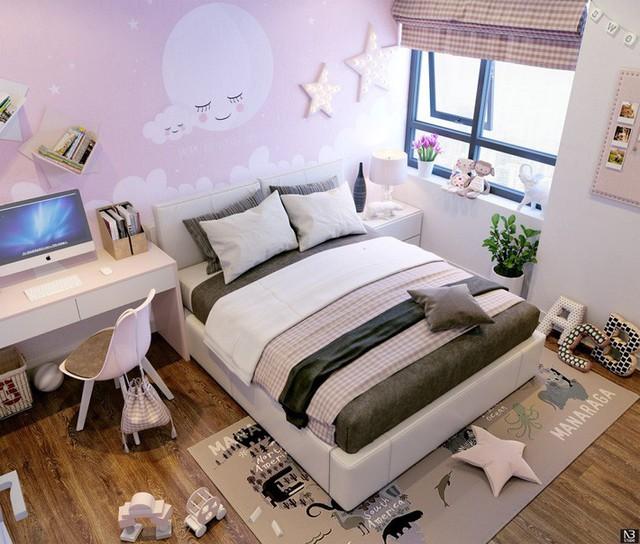 Thiết kế căn hộ 54m² 2 phòng ngủ đẹp hiện đại với tổng chi phí chưa đến 180 triệu đồng - Ảnh 9.
