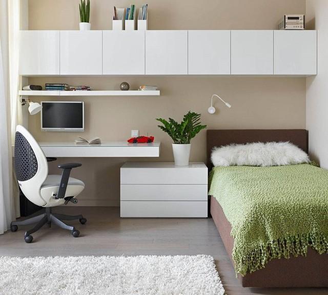 Thiết kế căn hộ 54m² 2 phòng ngủ đẹp hiện đại với tổng chi phí chưa đến 180 triệu đồng - Ảnh 10.