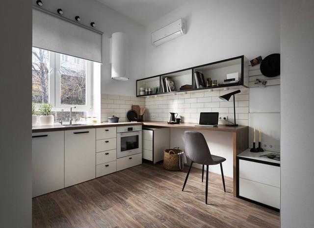 Căn hộ 17 m2 đủ tiện nghi mà vẫn thoáng đẹp khiến nhiều người khâm phục - Ảnh 3.