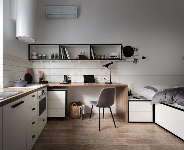 Căn hộ 17 m2 đủ tiện nghi mà vẫn thoáng đẹp khiến nhiều người khâm phục - Ảnh 6.