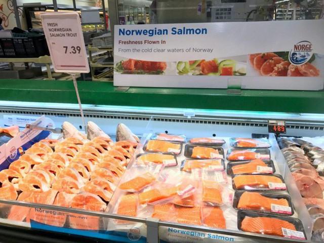 Tiến hành thu hồi cá hồi Na Uy vì nhiễm vi khuẩn gây tiêu chảy - Ảnh 2.