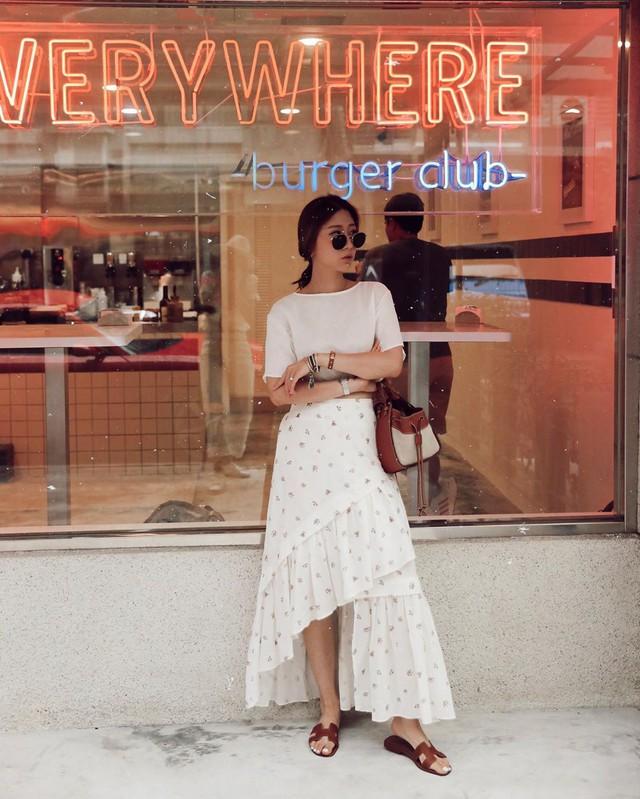 Chân váy dài chắc suất trong danh sách những items hot nhất mùa thu 2019 và 3 cách diện không lo dìm dáng - Ảnh 10.