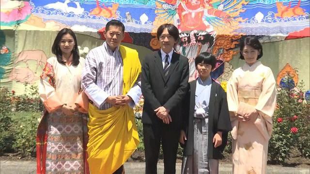 Hoàng hậu Bhutan đọ sắc Thái tử phi Nhật Bản nhưng 2 Hoàng tử nhỏ mới là tâm điểm chú ý - Ảnh 2.