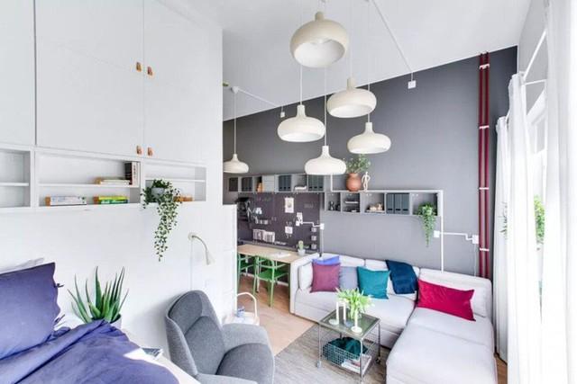 Ngôi nhà 34m² được bài trí vô cùng thẩm mỹ ban công thơ mộng cực kì thích hợp cho người trẻ thích sự phóng khoáng - Ảnh 2.