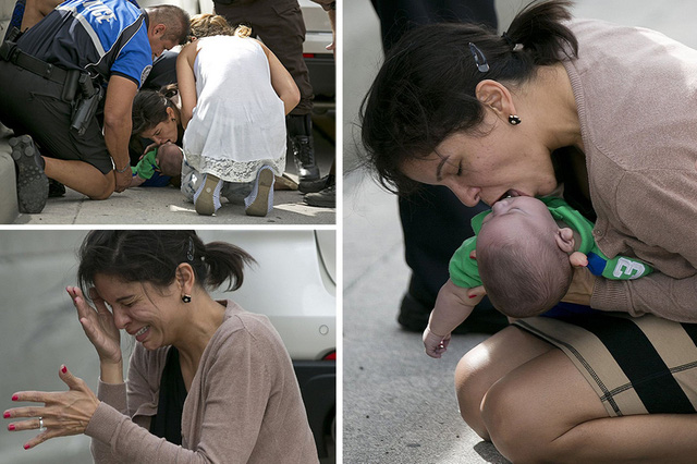 Câu chuyện xúc động phía sau bức ảnh người phụ nữ hô hấp nhân tạo cho đứa bé sơ sinh giữa đường quốc lộ - Ảnh 1.