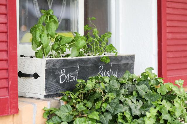 Không gian sống đẹp chất ngất nhờ những chiếc hộp trồng cây tự làm gắn cửa sổ - Ảnh 11.