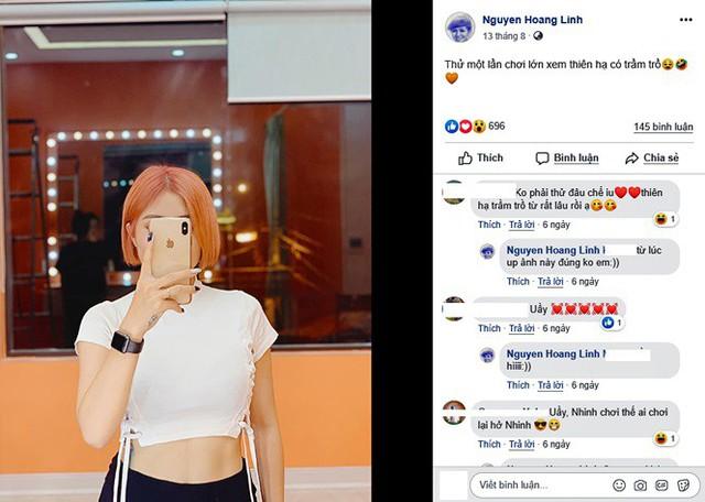 Loại ảnh sexy mới của MC Hoàng Linh gây tranh cãi - Ảnh 3.