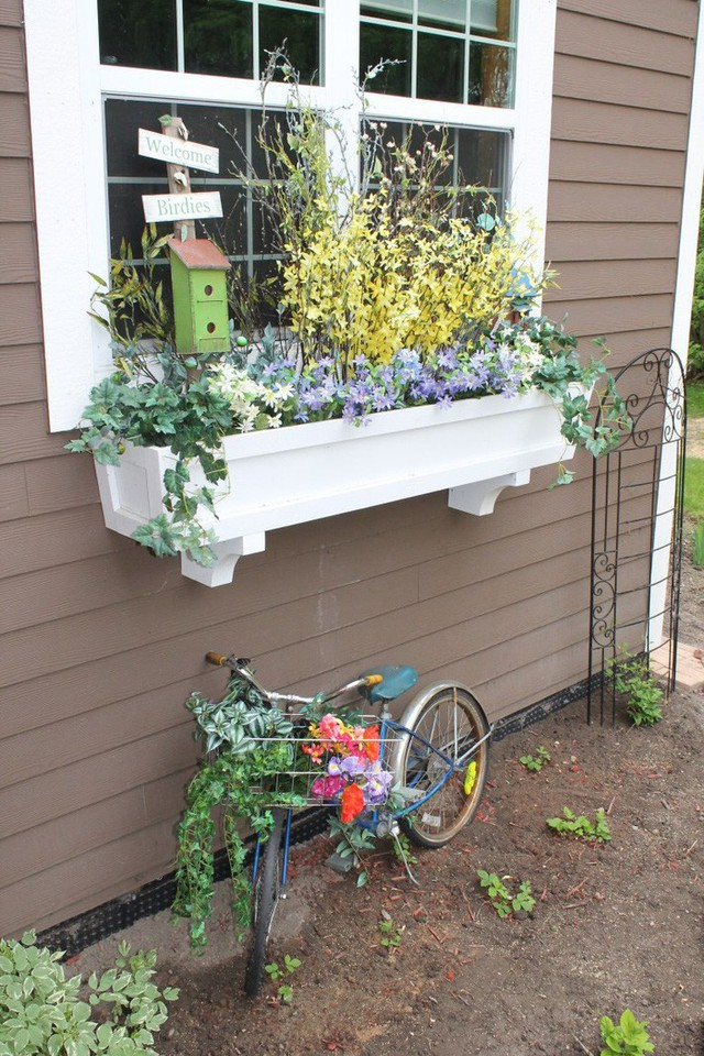 Không gian sống đẹp chất ngất nhờ những chiếc hộp trồng cây tự làm gắn cửa sổ - Ảnh 5.