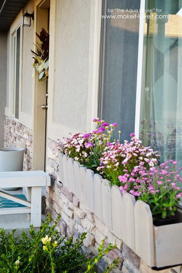 Không gian sống đẹp chất ngất nhờ những chiếc hộp trồng cây tự làm gắn cửa sổ - Ảnh 6.