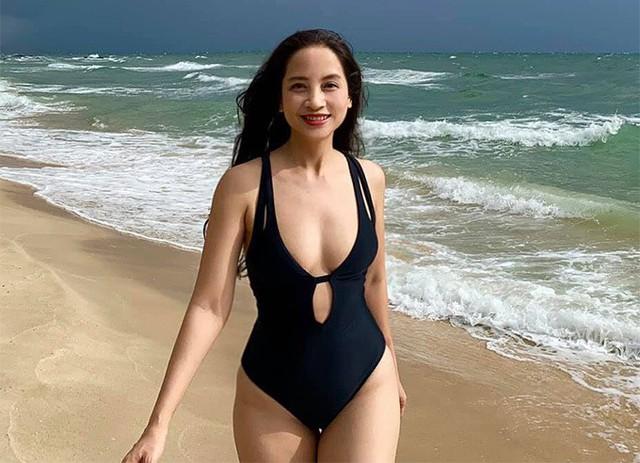 Diệu Thảo Phía trước là bầu trời khoe dáng với bikini - Ảnh 7.