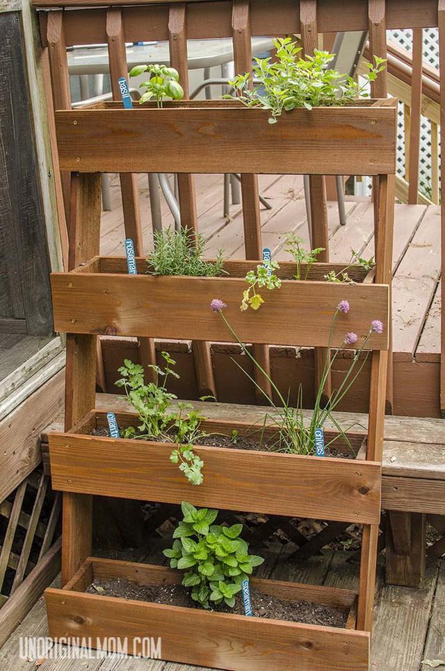 Không gian sống đẹp chất ngất nhờ những chiếc hộp trồng cây tự làm gắn cửa sổ - Ảnh 9.