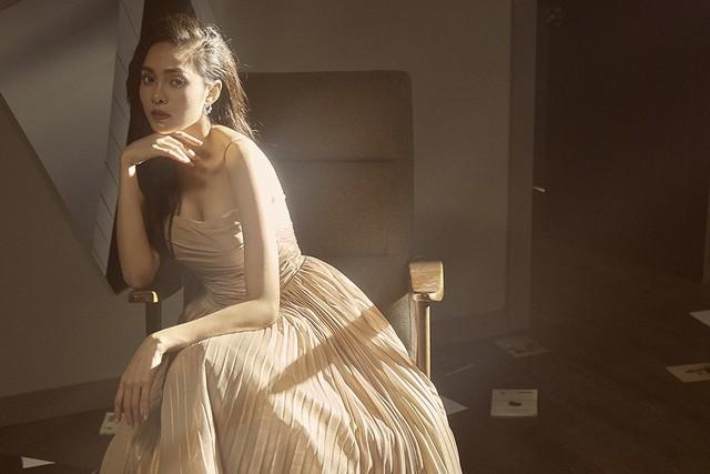 Dương Khắc Linh viết ca khúc mới tặng chị dâu Lưu Hiền Trinh - Ảnh 1.