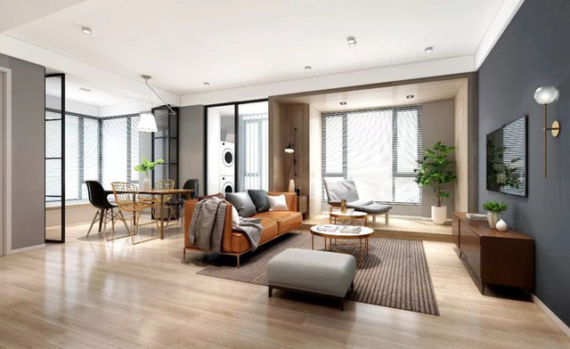 Ngôi nhà rộng 110m² bước ra từ truyện tranh của cặp vợ chồng đưa ra nguyên tắc: Về nhà là không làm việc! - Ảnh 3.