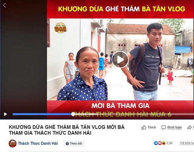 Bà Tân Vlog tham gia Thách thức danh hài: Đừng lôi bà vào showbiz được không? - Ảnh 3.