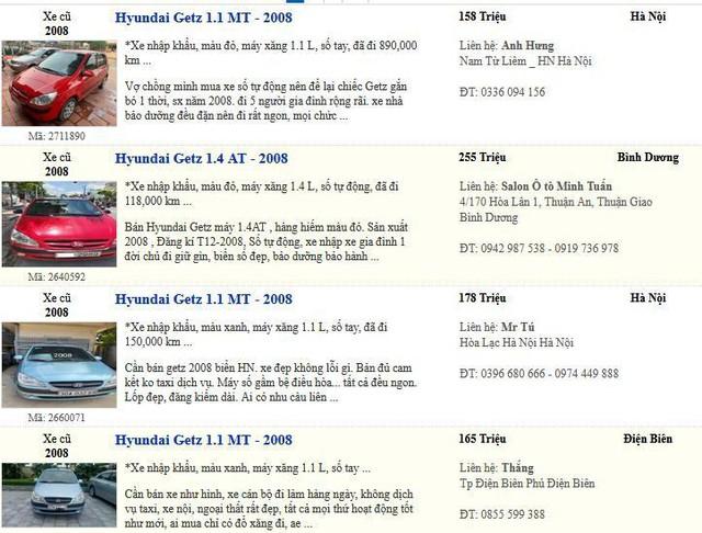 Ô tô Hyundai siêu rẻ dưới 200 triệu, 4 mẫu xe cũ ăn khách ở Việt Nam - Ảnh 1.
