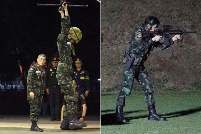 Hoàng quý phi Thái Lan mặc crop top lái máy bay - Ảnh 5.