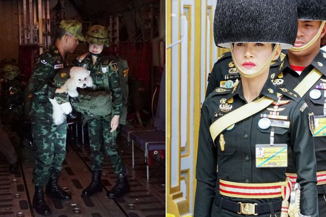 Hoàng quý phi Thái Lan mặc crop top lái máy bay - Ảnh 6.