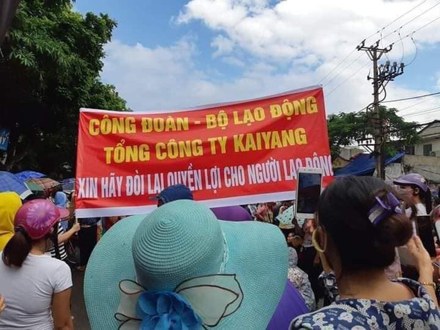 Ban lãnh đạo mới của Công ty KaiYang Việt Nam bỏ đi, Hải Phòng ứng ngân sách trả lương cho công nhân - Ảnh 3.