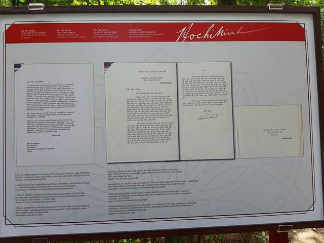 Trưng bày bức thư Bác Hồ gửi cựu Tổng thống Mỹ Nixon - Ảnh 2.