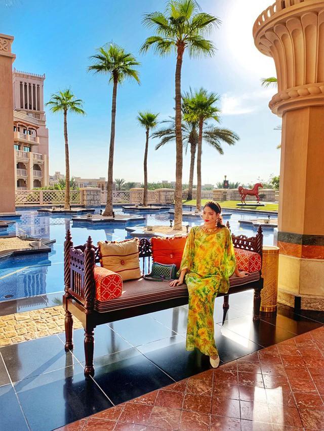 Bụng bầu vượt mặt, Lan Khuê vẫn được chồng chiều chuộng đưa đi du lịch tận Dubai - Ảnh 5.