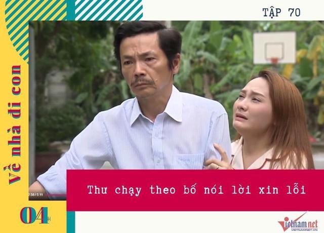 Những phân cảnh khóc hết nước mắt của Bảo Thanh trong Về nhà đi con - Ảnh 4.