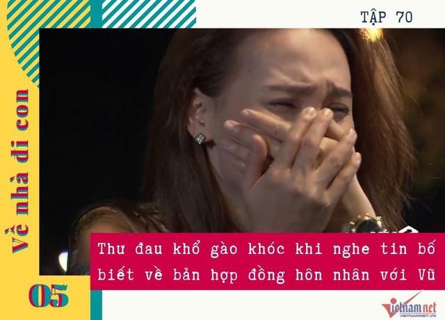Những phân cảnh khóc hết nước mắt của Bảo Thanh trong Về nhà đi con - Ảnh 5.