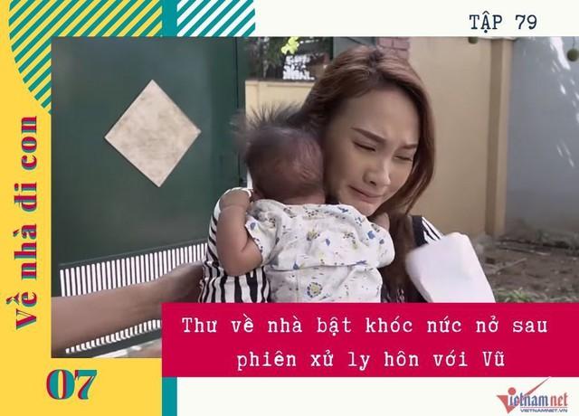 Những phân cảnh khóc hết nước mắt của Bảo Thanh trong Về nhà đi con - Ảnh 7.