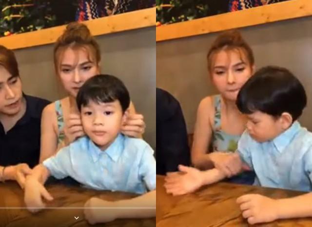 Thu Thủy khẳng định chồng trẻ đã cùng cô nuôi dạy con suốt 2 năm qua dù hơn 1 năm trước anh chàng vẫn còn tham gia show hẹn hò với người yêu cũ - Ảnh 1.