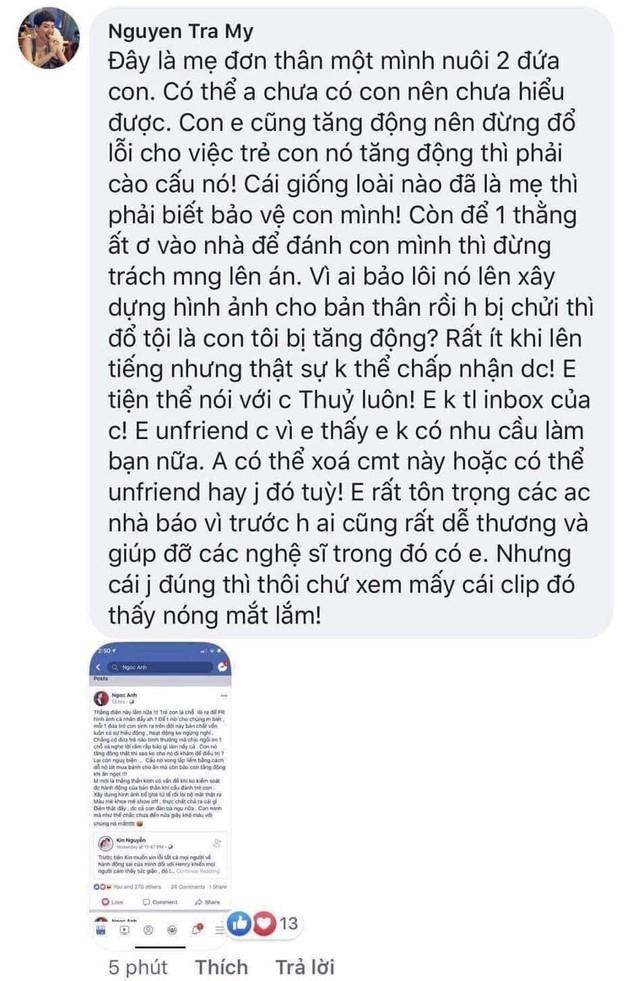 Trà My Idol không muốn làm bạn với Thu Thủy sau scandal bạo hành con - Ảnh 2.