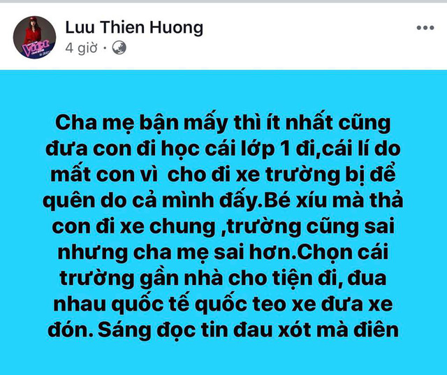 Lưu Thiên Hương gây phẫn nộ khi đổ lỗi cho cha mẹ sau vụ việc trường GateWay - Ảnh 1.