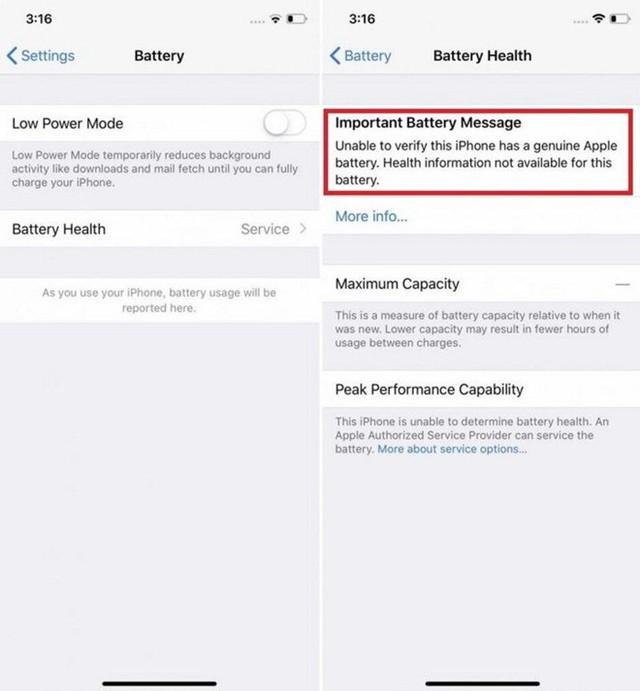 Apple sẽ chặn tính năng iPhone nếu bạn thay pin ngoài - Ảnh 2.