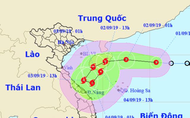 Bão số 5 có quỹ đạo dị thường gây mưa cực lớn cho Trung Bộ và Tây Nguyên - Ảnh 1.