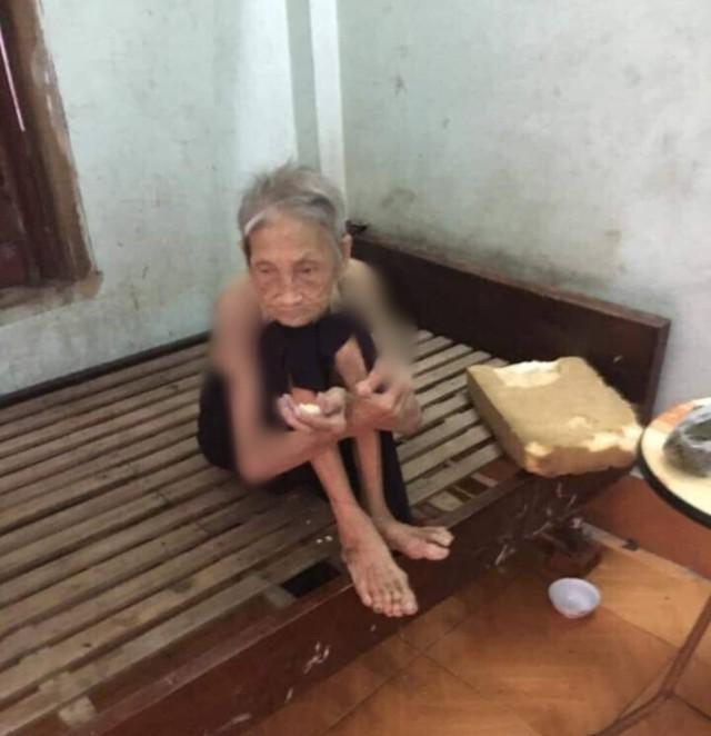 Vụ vợ chồng con trai bị tố nhốt mẹ 87 tuổi ở chuồng bò: Mẹ từng xin ăn nuôi con khôn lớn - Ảnh 2.