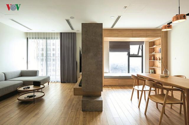 Không gian hiện đại, văn minh, tràn đầy sức sống trong căn hộ 126 m2 ở Hà Nội - Ảnh 1.