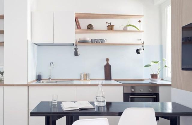 Nhà bếp nhỏ ở chung cư sẽ lột xác thoáng rộng trông thấy nhờ những ý tưởng siêu hay này - Ảnh 2.