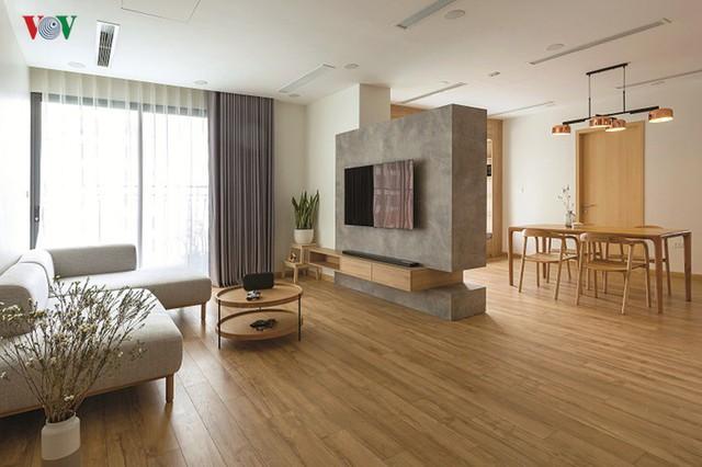 Không gian hiện đại, văn minh, tràn đầy sức sống trong căn hộ 126 m2 ở Hà Nội - Ảnh 3.
