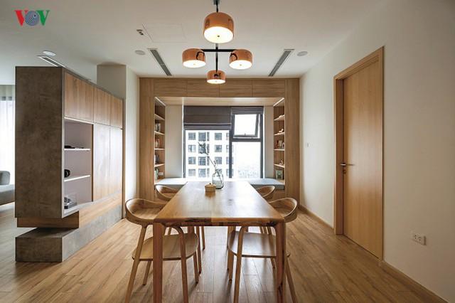 Không gian hiện đại, văn minh, tràn đầy sức sống trong căn hộ 126 m2 ở Hà Nội - Ảnh 4.