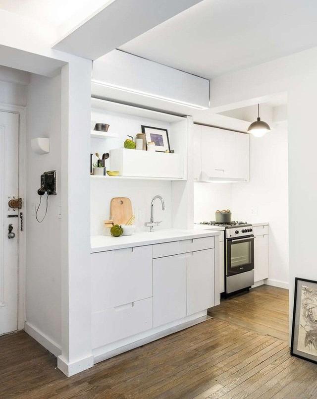 Nhà bếp nhỏ ở chung cư sẽ lột xác thoáng rộng trông thấy nhờ những ý tưởng siêu hay này - Ảnh 4.