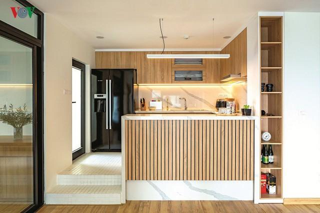 Không gian hiện đại, văn minh, tràn đầy sức sống trong căn hộ 126 m2 ở Hà Nội - Ảnh 7.