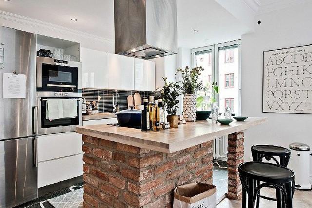 Nhà bếp nhỏ ở chung cư sẽ lột xác thoáng rộng trông thấy nhờ những ý tưởng siêu hay này - Ảnh 7.