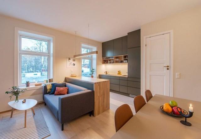 Nhà bếp nhỏ ở chung cư sẽ lột xác thoáng rộng trông thấy nhờ những ý tưởng siêu hay này - Ảnh 8.