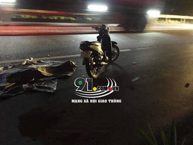 Hải Phòng: Truy tìm lái xe gây tai nạn rồi bỏ chạy trên Quốc lộ 5 - Ảnh 1.