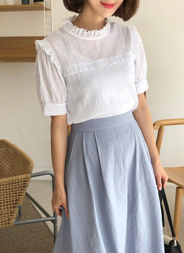 Chiếc áo cộng thêm vài phần sang chảnh cho các chị em công sở hóa ra cực dễ mix đồ  - Ảnh 8.