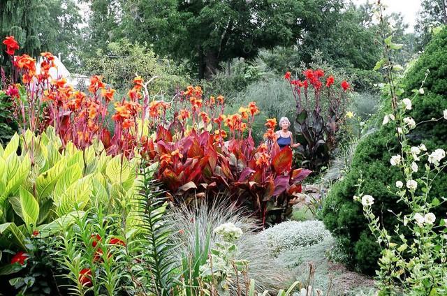 Khu vườn trồng đủ loại rau củ quả khổng lồ của ông bà lão yêu thích làm vườn sau khi nghỉ hưu - Ảnh 20.