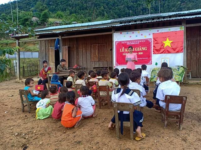 Lớp học của 2 cô giáo và 34 học sinh giữa đỉnh trời - Ảnh 9.