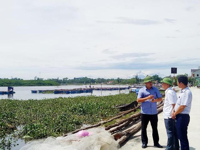 Thạch Hà, Hà Tĩnh: Dân điêu đứng vì cá nuôi lồng bè chết bất thường cả trăm tấn sau lũ - Ảnh 1.