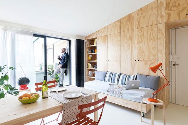 10 căn hộ nhỏ với thiết kế tinh xảo, nhiều người có nhà to cũng phải vật vã phát thèm - Ảnh 1.