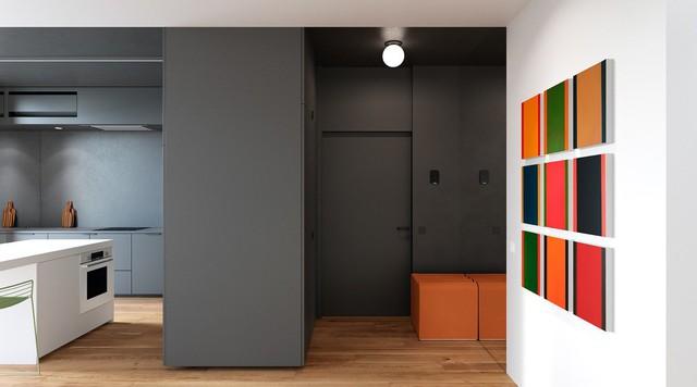 Tận dụng màu trắng căn hộ nhỏ của bạn sẽ được nới rộng một cách bất ngờ đấy - Ảnh 13.
