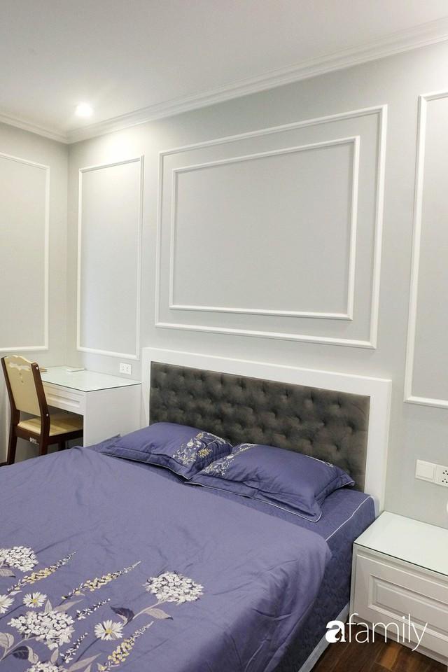 Từ hiện trạng trống trơn, căn hộ 81m² mặc chiếc áo tân cổ điển đẹp sang trọng với chi phí thi công 175 triệu ở Long Biên - Ảnh 13.
